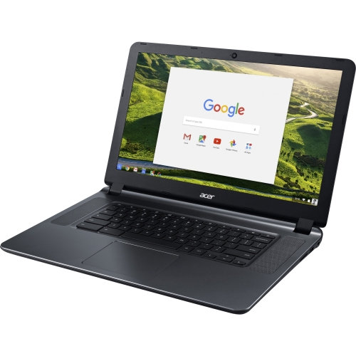 "Acer CB3-532-C42P 15.6"" Active Matrix TFT Color LCD Chromebook - Intel Celeron N3060 Dual-core (2 Core) 1.60 GHz - 4 GB LPDDR3 - 16 GB Flash Memory - Chrome OS - 1366 x 768 - ComfyView - Granite Gray - Intel HD Graphics 400 LPDDR3 - Bluetooth - Front Camera/Webcam - IEEE 802.11ac - HDMI - 2 x USB 3.0 Ports"