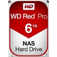 """WD Red Pro WD6002FFWX 6 TB 3.5"""" Internal Hard Drive - SATA - 7200rpm - 128 MB Buffer - 20 Pack"""