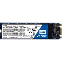 WD Blue M.2 1TB Internal SSD Solid State Drive - SATA 6Gb/s - 545 MB/s Maximum Read Transfer Rate - 525 MB/s Maximum Write Transfer Rate
