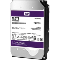 WD Purple 10TB Surveillance Hard Drive - 5400rpm - 256 MB Buffer