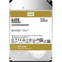 """WD Gold WD8003FRYZ 8 TB 3.5"""" Internal Hard Drive - SATA - 7200rpm - 128 MB Buffer - 20 Pack"""