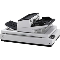 Fujitsu fi-7700 Sheetfed/Flatbed Scanner - 600 dpi Optical - 24-bit Color - 8-bit Grayscale - 100 ppm (Mono) - 100 ppm (Color) - Duplex Scanning - USB 100PPM 300ADF FLTBED 90DAY ONSITE
