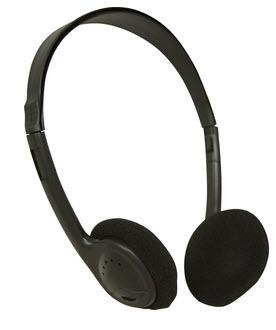 AE-711 On-Ear Headphones (Black)