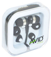 Avid Agility In-Ear Earbuds (Black)