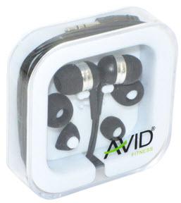 Avid Agility In-Ear Earbuds (Black)