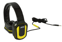 E-66 Stereo Headphone, Inline MIC, Volume Control, Yellow