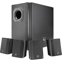 SURFACE MOUNT SUBWOOFER BLACK