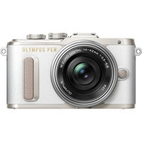 PEN E PL8 Wht Kit w 14 42 Lens