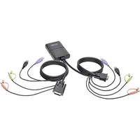 2Port USB DVI KVM Cbl