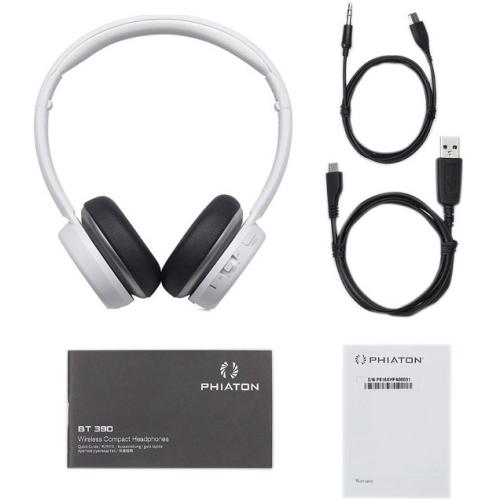 BT 390 Wireless Headphones Wht