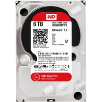 6TB RED PRO NAS 6G 128MB