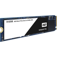 512GB WD BLACK PCIE SSD