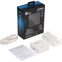 5PORT SMART USB CHARGER PLUS