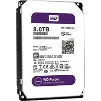 8TB PURPLE SATA 6GB/S 5400 RPM