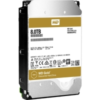8TB GOLD SATA 6GB/S 7200 RPM