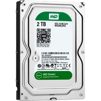 2TB SATA 3.5IN WD GREEN 6G