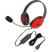CALIFONE USB STEREO HEADPHONES