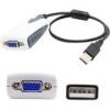 5PK USB 2.0(A) TO VGA