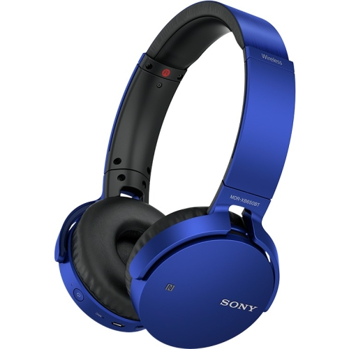 Extra Bass Wireless Over-Ear Headphones