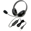 CALIFONE STEREO BLACK HEADPHONE