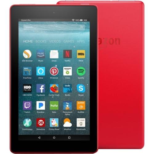 """7"""" Fire 7 Tblt wAlexa 16GB Red"""