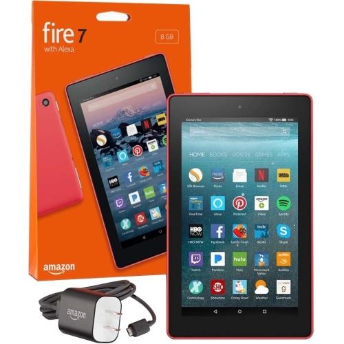 """7"""" Fire 7 Tblt w Alexa 8GB Red"""