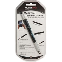 BLACK MULTI-TOOL STYLUS/PEN