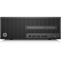 HP Business Desktop 280 G2 Desktop Computer - Intel Core i3 (6th Gen) i3-6100 3.70 GHz - 4 GB DDR4 SDRAM - 500 GB HDD - Windows 10 Pro 64-bit (English) - Small Form Factor - DVD-Writer DVD-RAM/±R/±RW - English Keyboard - HDMI - 8 x Total USB Port(s) 3.2G 4GB 500GB DVDRW W10P 64BIT