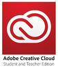 Creative Cloud Student and Teacher Edition (One Year Subscription - Monthly Price - PROMO: 2 free months when you pay up front, offer ends August 30th)