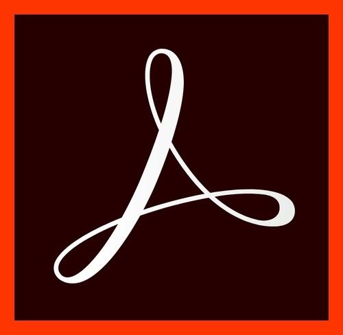 Adobe Acrobat Pro DC Licensing Subscription - 12 Months, 1 User