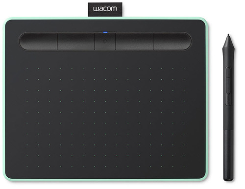 Wacom Intuos Pen Tablet & Bluetooth Small (Pistachio)
