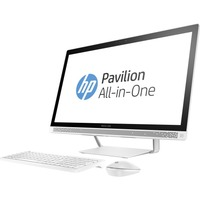 "HP Pavilion 27-a200 27-a230 All-in-One Computer - Intel Core i5 (7th Gen) i5-7400T 2.40 GHz - 12 GB DDR4 SDRAM - 1 TB HDD - 27"" 1920 x 1080 Touchscreen Display - Windows 10 Home 64-bit - Desktop"