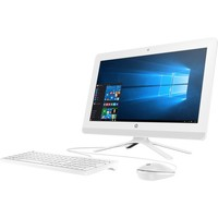 "HP 20-c200 20-c210 All-in-One Computer - Intel Celeron J3355 2 GHz - 4 GB DDR3L SDRAM - 1 TB HDD - 19.5"" 1600 x 900 - Windows 10 Home - Desktop - Snow White"