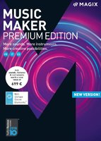 MAGIX Music Maker Premium (Academic) (Electronic Software Delivery)