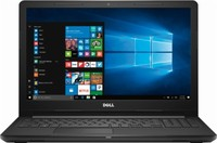 Dell Inspiron 15 3000 (3567) Laptop Computer Config 3 Non-Touch - 15.6-inch HD (1366x768) Anti-Glare LED-Backlit Display; 6th Generation Intel Core i3-6006U Processor (3MB Cache, 2.0GHz); 8GB DDR4 2400MHz; 1TB 5400rpm Hard Drive