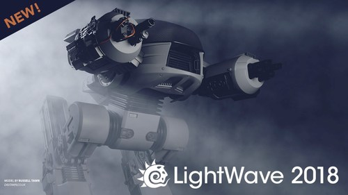 LightWave™ 3D® 2018 with Electronic Manual (Electronic Software Delivery)