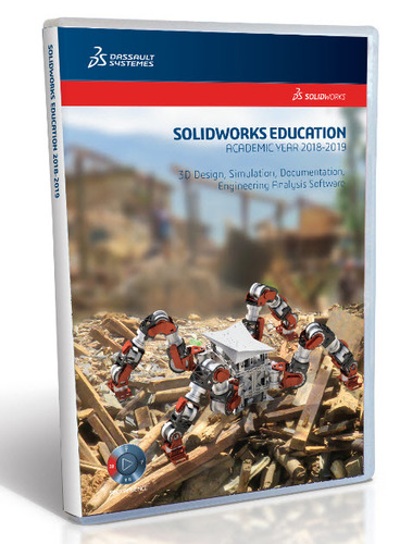 SolidWorks Student Edition 2018-2019 (12 Month License - Electronic Software Delivery)