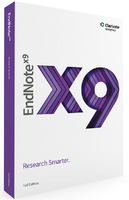 EndNote X9 (Electronic Software Delivery)