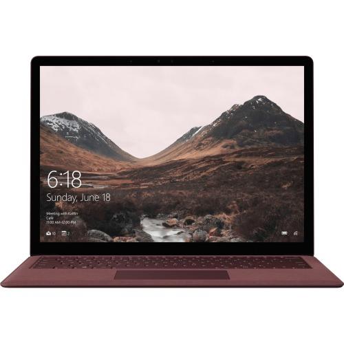 "Microsoft Surface Laptop 13.5"" Touchscreen LCD - Intel Core i7-7660U Dual-core, 2.50 GHz - 8 GB - 256 GB SSD - Burgundy"
