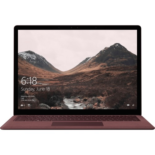 "Microsoft Surface Laptop 13.5"" Touchscreen LCD - Intel Core i7-7660U Dual-core, 2.50 GHz - 16 GB - 512 GB SSD - Burgundy"