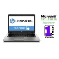 Hewlett-Packard (Refurbished) EliteBook 840 G1 Notebook PC (TOUCHSCREEN), 1.9GHZ, 8GB