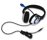AE-55 On-Ear Headset with Microphone (TRRS - Blue - 12pk Classroom)