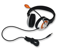 AE-55 On-Ear Headset with Microphone (TRRS - Orange - 12pk Classroom)