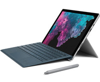 Microsoft Surface Pro6 Bundle with Type Cover and Pen (Charcoal) - i5/8/128GB