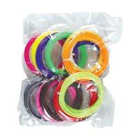 3D Magic Pen Filament Pack - 15 Vibrant Colors - 10ft per color