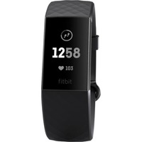 Fitbit Charge 3 Advanced Fitness Tracker - Graphite/Black