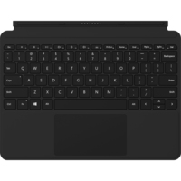 "Microsoft Signature Type Cover Keyboard/Cover Case Tablet for Surface Go - Black - MicroFiber - 6.9"" Height x 9.7"" Width x 0.3"" Depth"