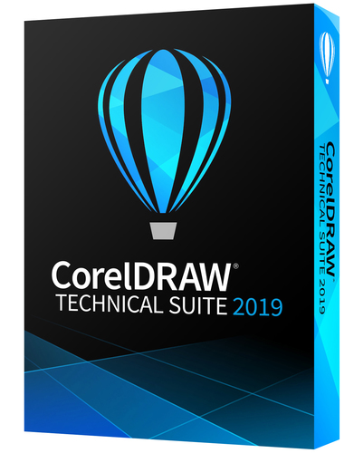 CorelDRAW Technical Suite 2019 (Electronic Software Delivery)