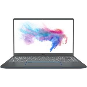 "MSI Prestige 14 A10SC-020 14"" Gaming Notebook - 1920 x 1080 - Core i5 i5-10210U - 16 GB RAM - 512 GB SSD - Gray with Blue Diamond Cut"