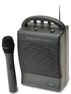 20 Watt Wireless PA System - Cassette Wireless Rechargeable